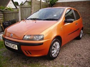 Fiat Punto lost keys Camborne,